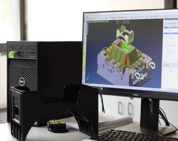 Progettazione stampi in CAD e CAM